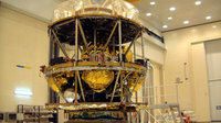 Meteosat Second Generation is a 3.7 m high