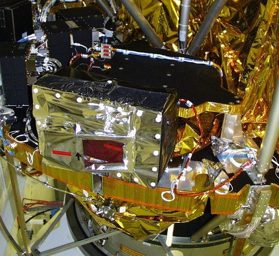 MSG carries the GERB instrument to study the atmosphere's radiation balance