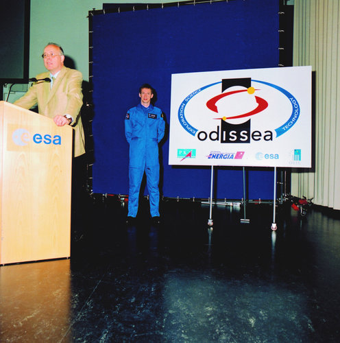 Presentation Odissea mission and logo