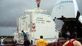 MSG unloaded in Kourou