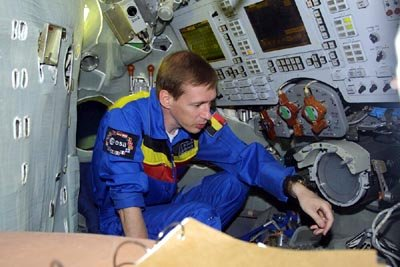 Soyuz simulator training