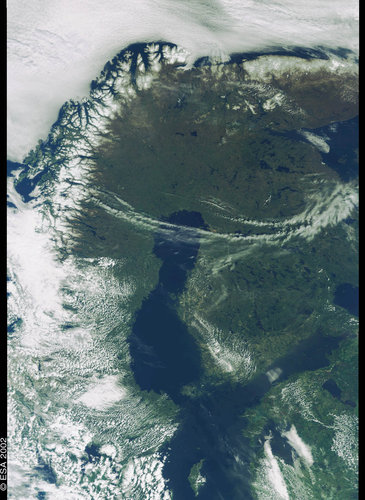 Finland, The Baltic Sea - MERIS - 31 May 2002