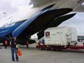 Integral loaded onto Antonov 124