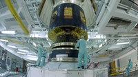 MSG-1 is installed on the launcher, at the BAF