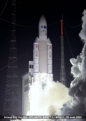 Liftoff of Ariane 5 G
