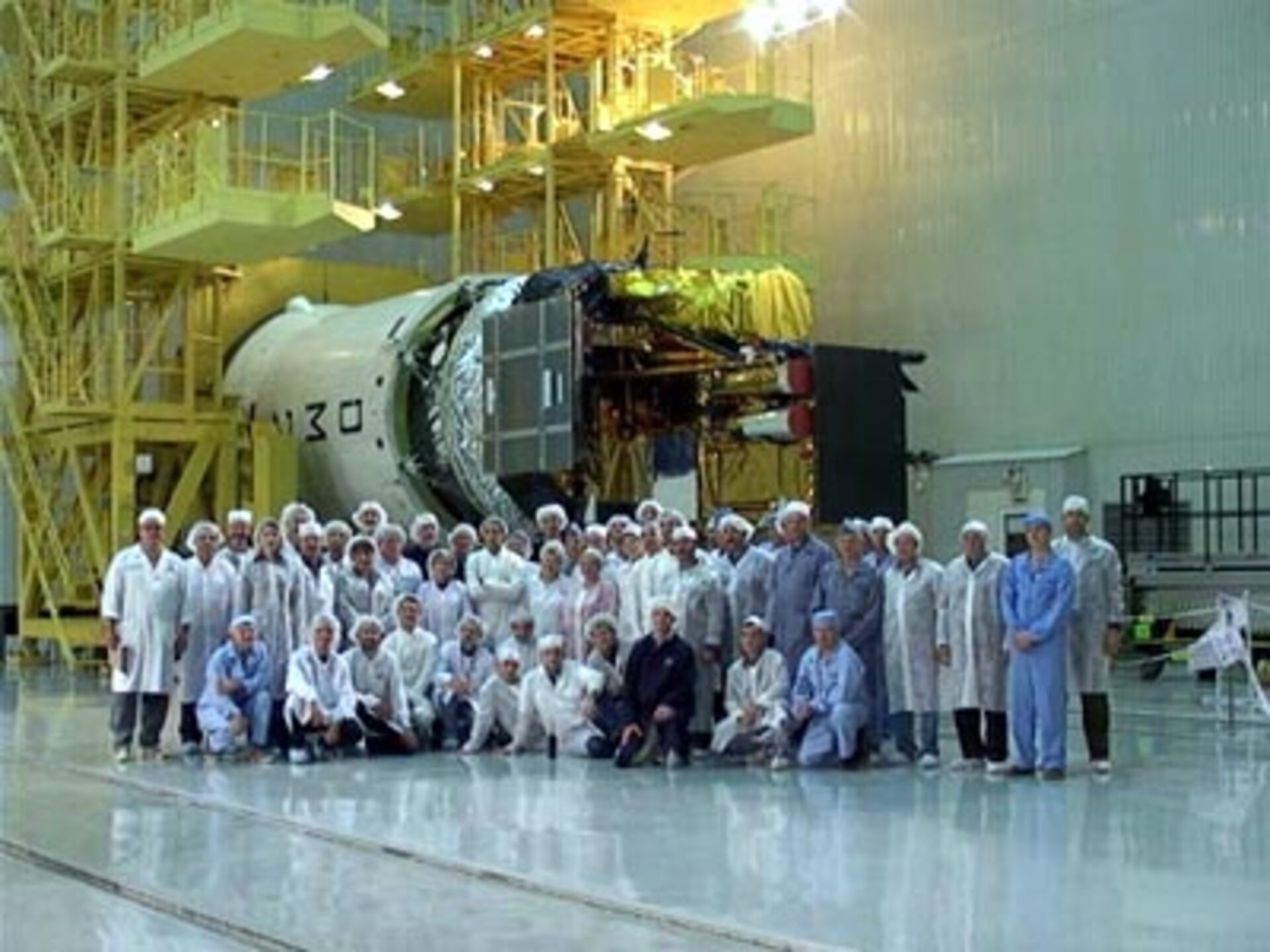 2.10.02.  International team photo after the successful rotation of Integral