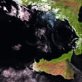 ATSR-2 image of Etna