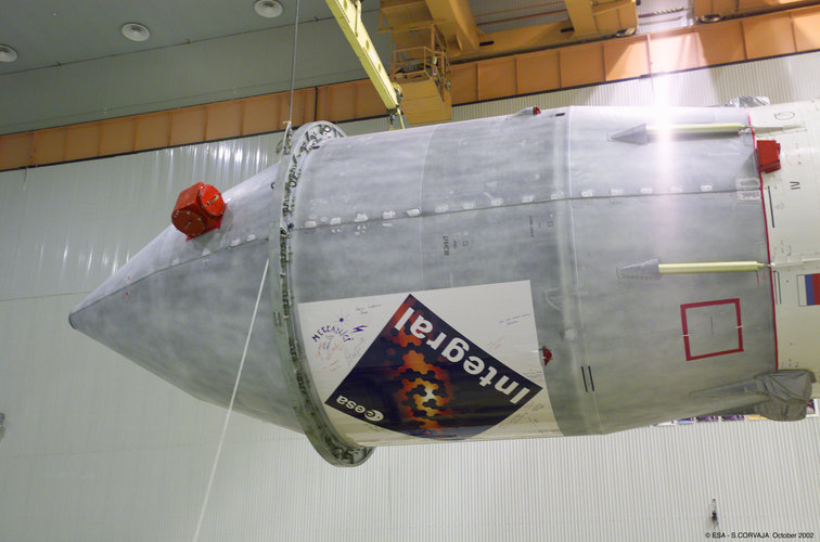 Integral Logo installation on the fairing