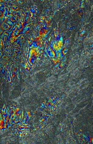 Interferogram  of central Spain