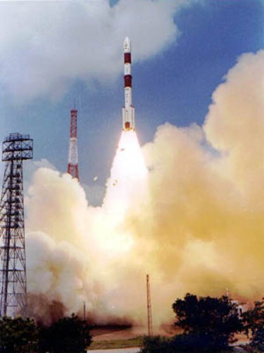 Proba liftoff onboard PSLV