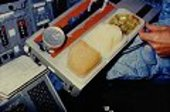Space Shuttle food tray