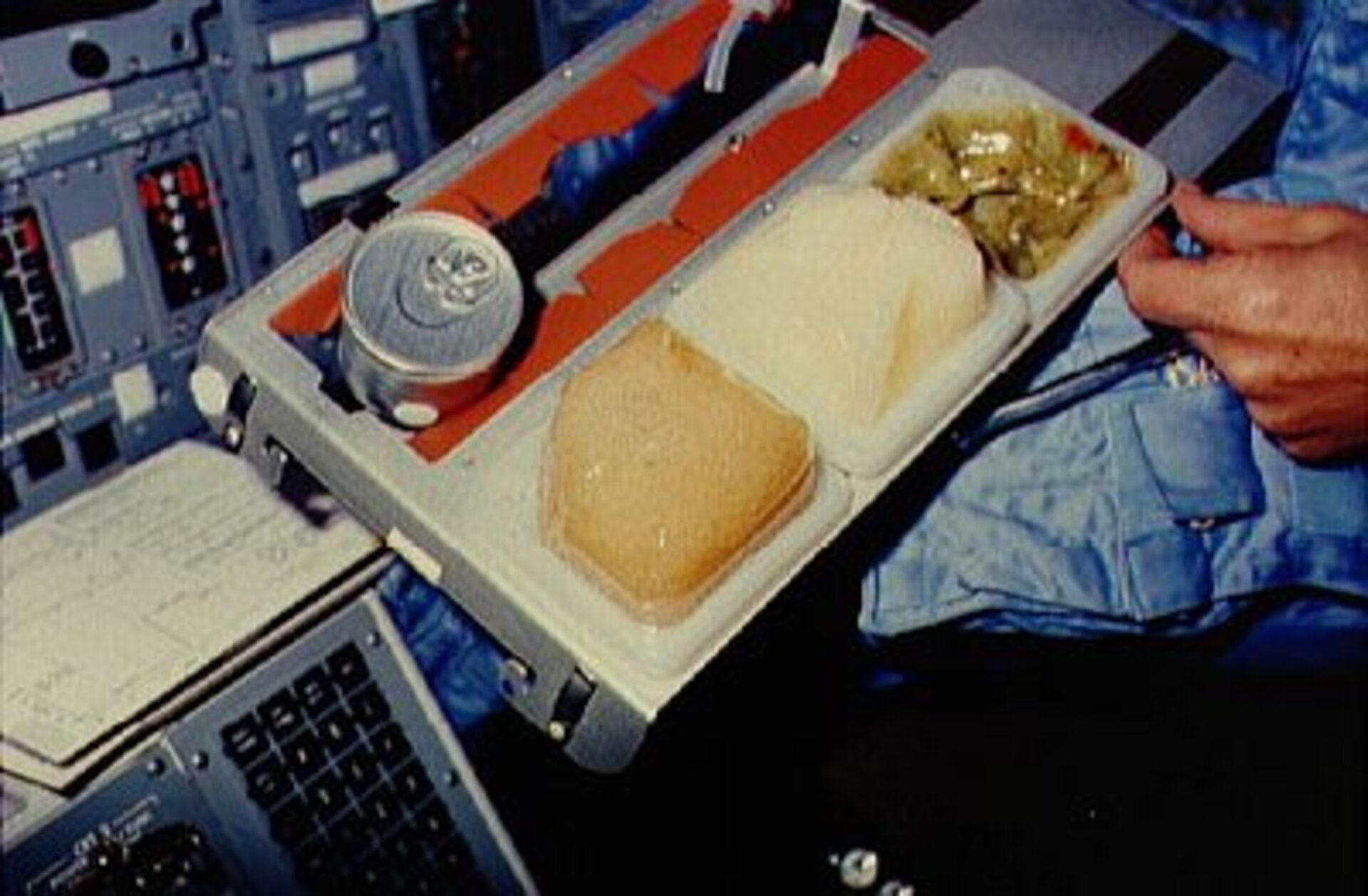 Determination of food and water requirements of astronauts during spaceflight is important