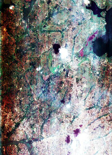 Uganda, Africa - CHRIS images - 8 June 2002