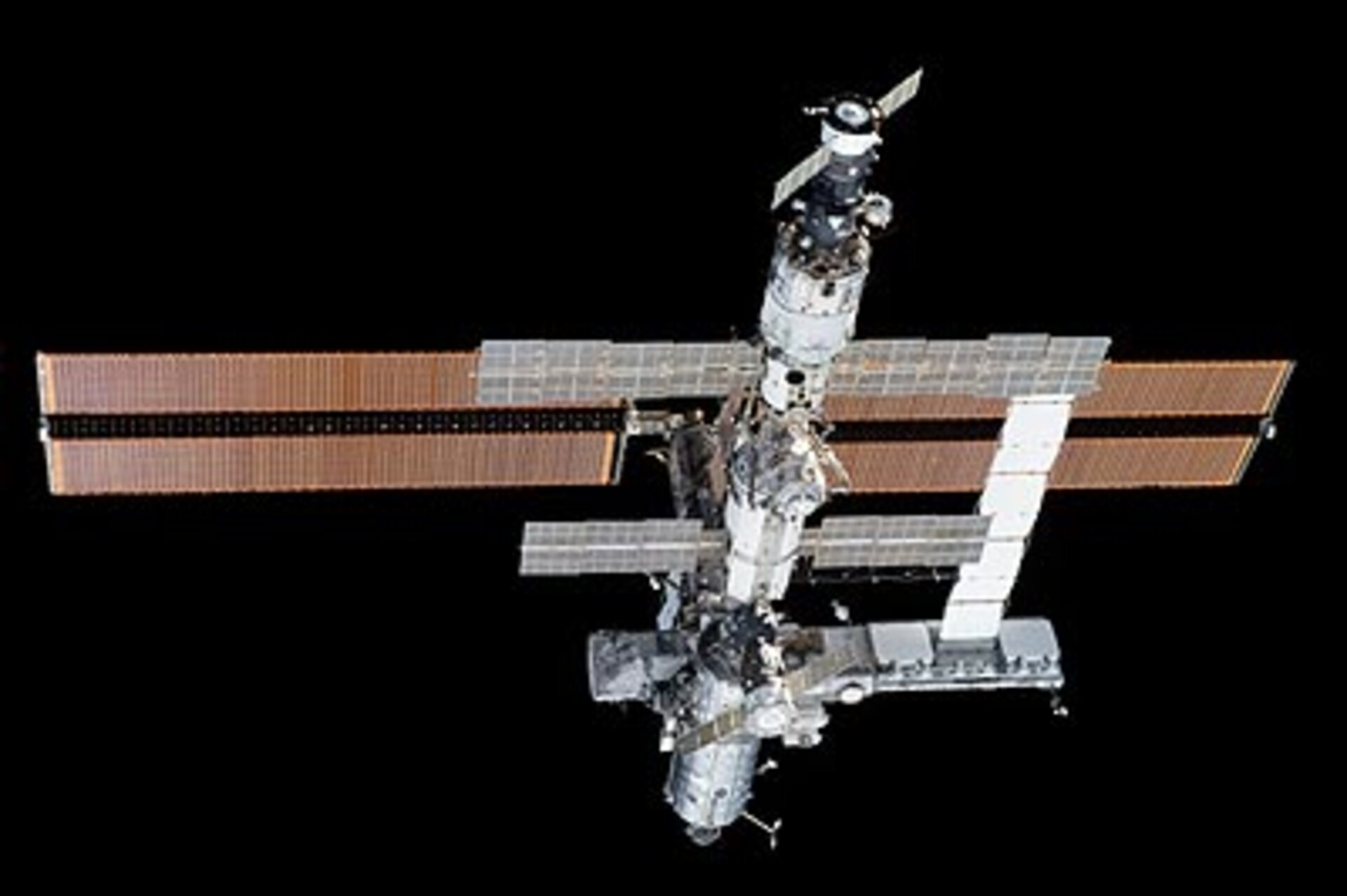Latest view of the International Space Station