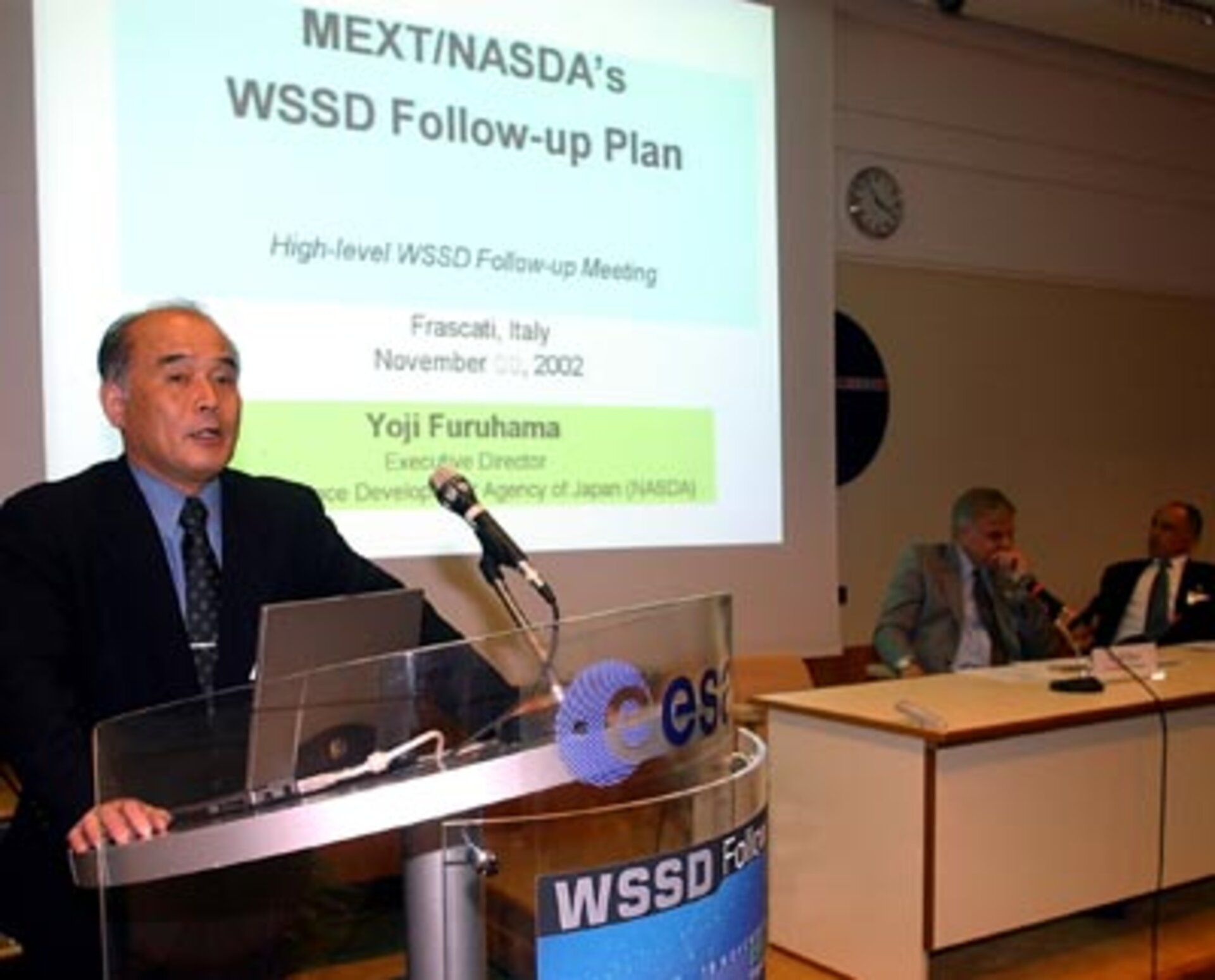NASDA's Furuhama offers his perspective on WSSD follow-up