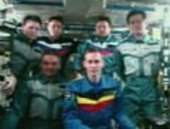 Odissea and ISS crews together