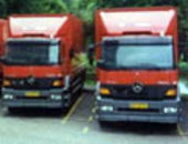 A fleet of vans were used in the trial
