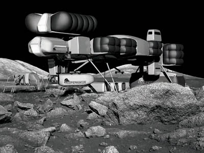 Future lunar outpost