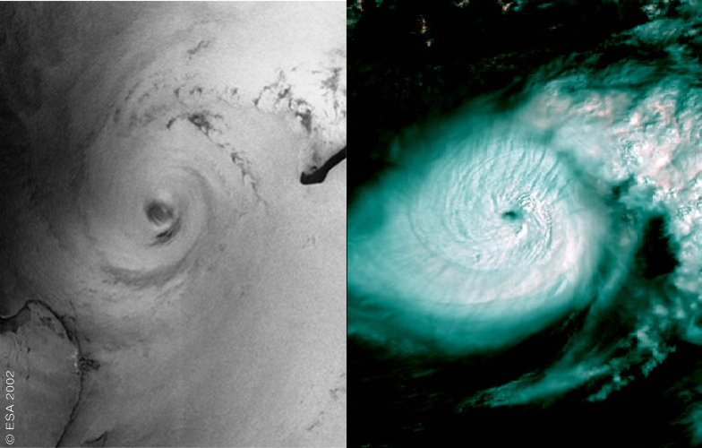 Hurricane Isidore – ASAR/MERIS -  21 September 2002