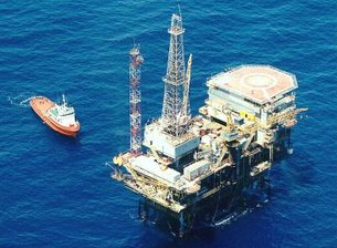 Casablanca oil rig near Barcelona, Spain