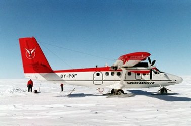 The Twin Otter aircraft