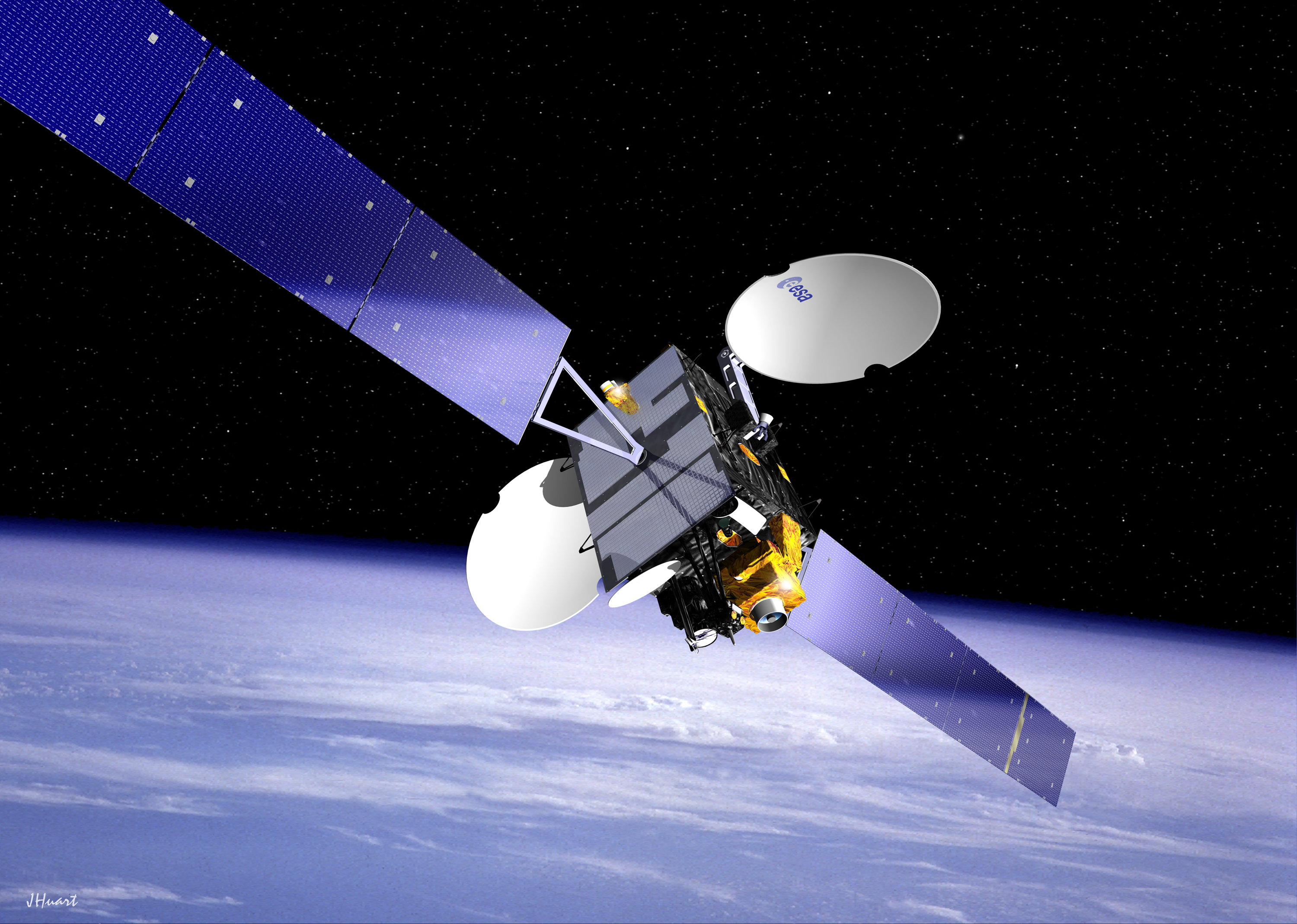 satellite communication The different characteristics, criteria for use, and advantages/disadvantages between cellular and satellite communications.