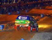 Pescarolo – first day of 2003 Dakar Rally