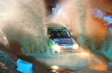 Pescarolo team brings space technology to 2003 Dakar Rally