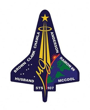 STS-107 mission patch
