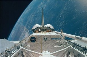 Spacehab during STS-95