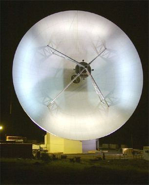 ESA antenna near Perth (Australia)