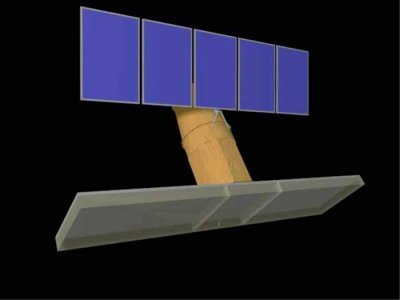 Concept of SAOCOM-1A satellite for radar observations