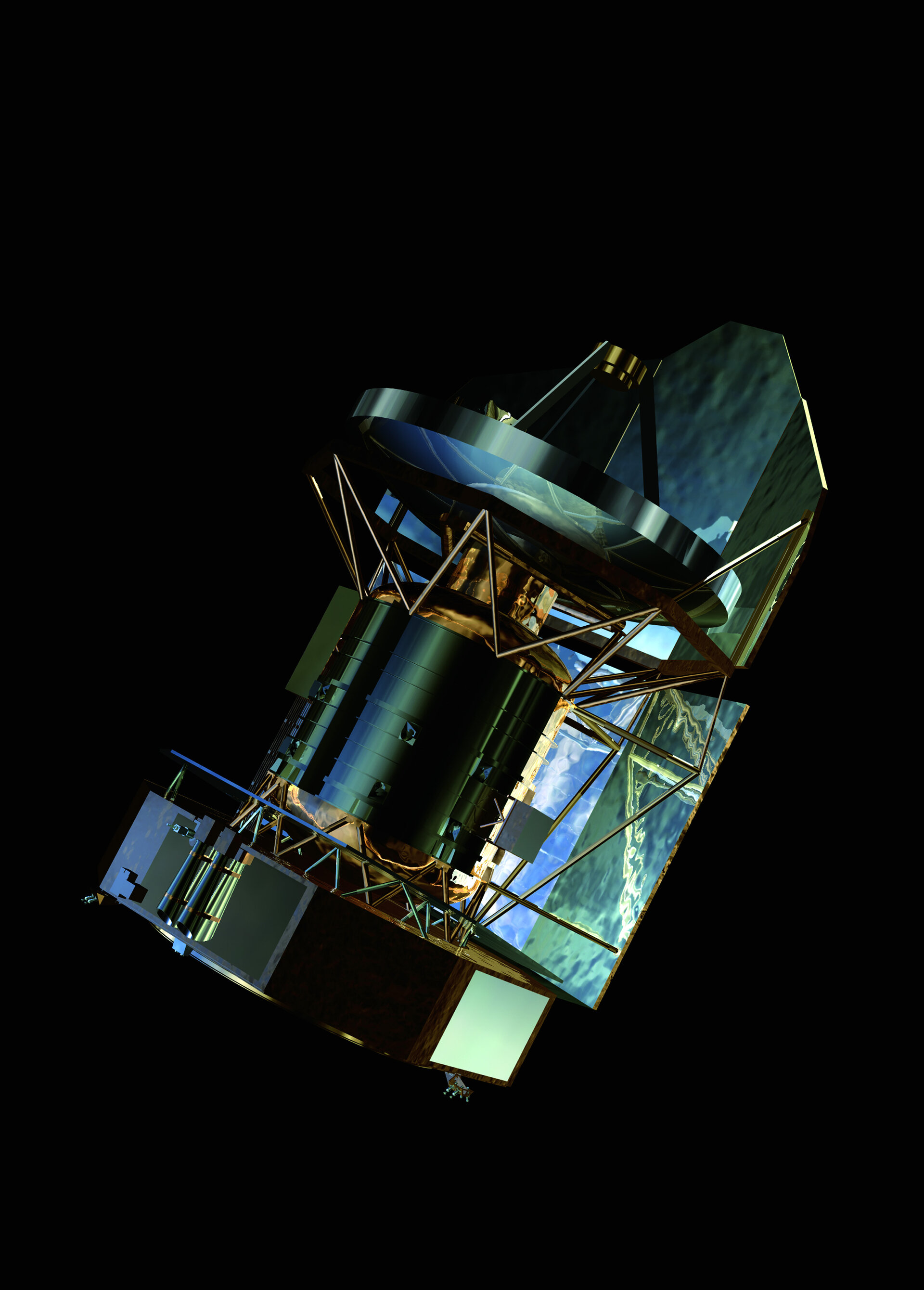 Herschel's telescope will collect infrared radiation from distant stars
