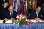 Mr.  Ivanov and Mr. Rodotà signed the agreement today