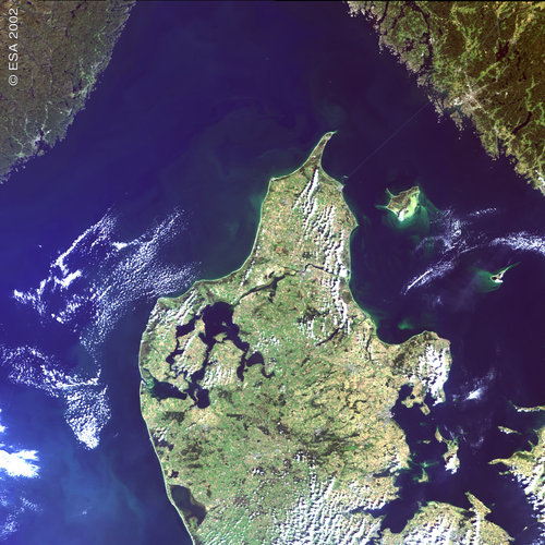 Northern Denmark – MERIS- 12 September 2002