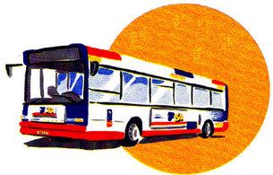 toulouse bus test drives european satellite navigation. Black Bedroom Furniture Sets. Home Design Ideas