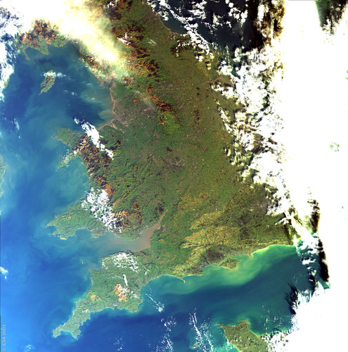 United Kingdom – MERIS - 23 January 2003