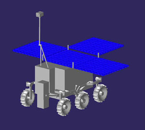 Configuration of the ExoMars rover