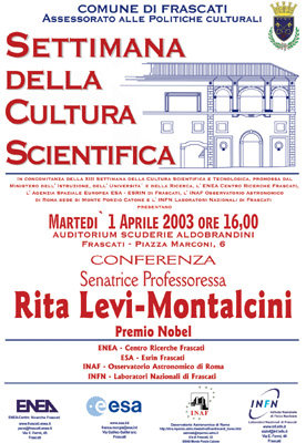Science Week 2003 Poster