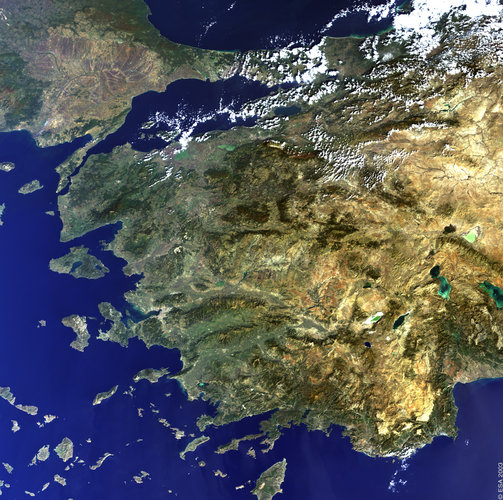 Western Turkey - MERIS, 30 October 2002