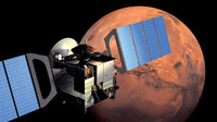 ESA's Mars Express in orbit around Mars