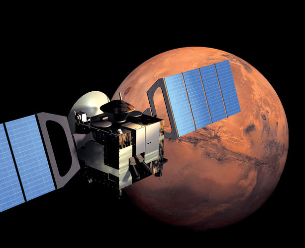 Mars Express in orbit around Mars