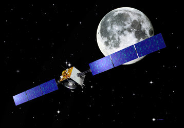 SMART-1 is travelling to the Moon using a new solar-electric propulsion system