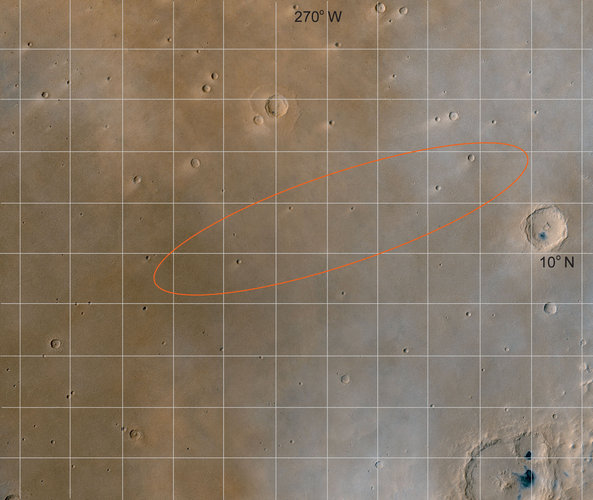 The Beagle 2 landing site