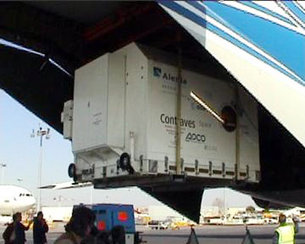 Transporting Mars Express long distances requires an Antonov 124