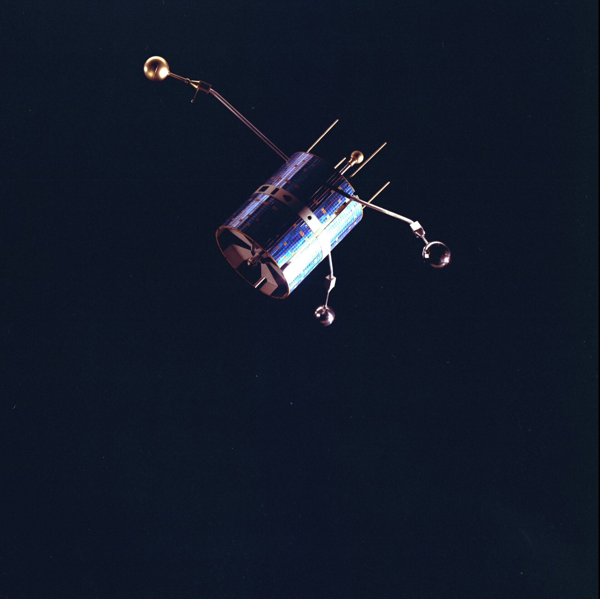 An artist's impression of ESRO-4 in orbit