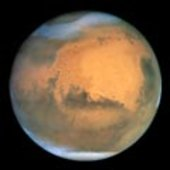Earth-based view of Mars