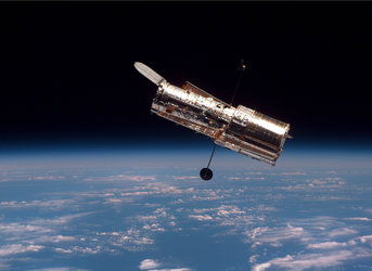 Hubble in free orbit