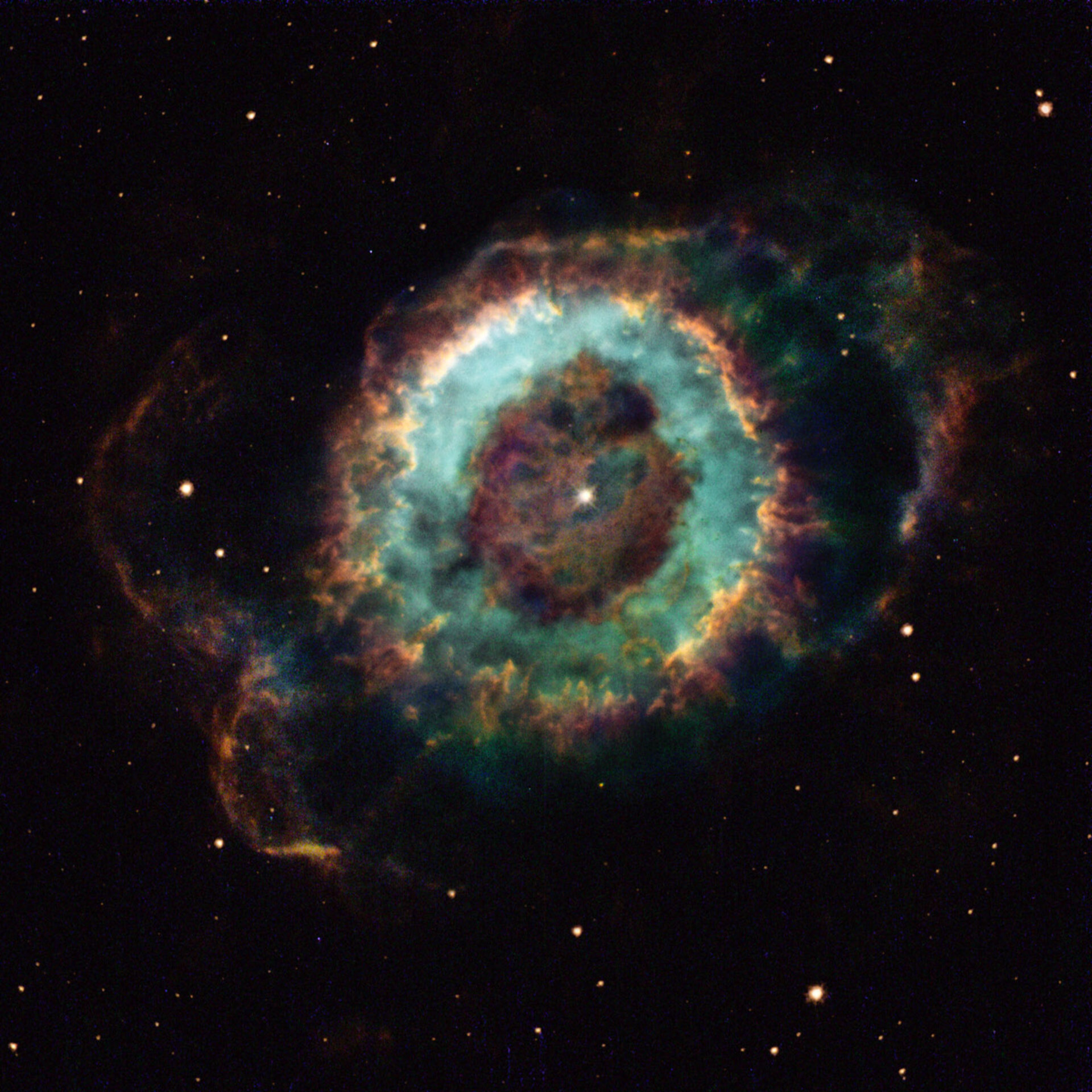 NGC 6369, a cosmic ghost