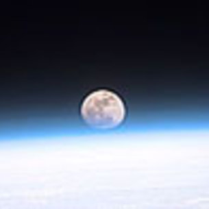 The Moon, as seen from Earth orbit / Space Science / Our ...